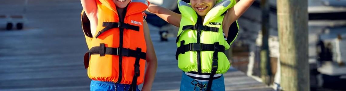 Детские cтраховочные и спасательные жилеты