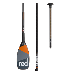 Весло SUP разборное RED PADDLE RPC Carbon Elite 3pc Paddle