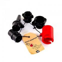 Комплект насадок для ручного SUP-насоса RED PADDLE MULTI-ADAPTOR SET