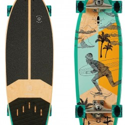 Скейтборд AZTRON STREET 31 Surfskate Board AK-302