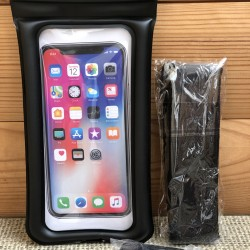 Водонепроницаемый чехол для телефона WP1024 (черный)