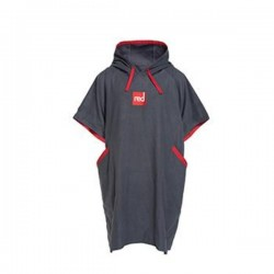 Пончо-полотенце быстросохнущее из микрофибры RED ORIGINAL Quick Dry Change Robe - Grey Kids
