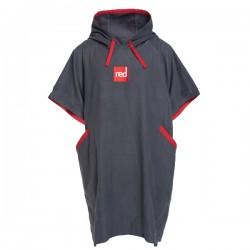 Пончо-полотенце быстросохнущее из микрофибры RED ORIGINAL Quick Dry Change Robe - Grey